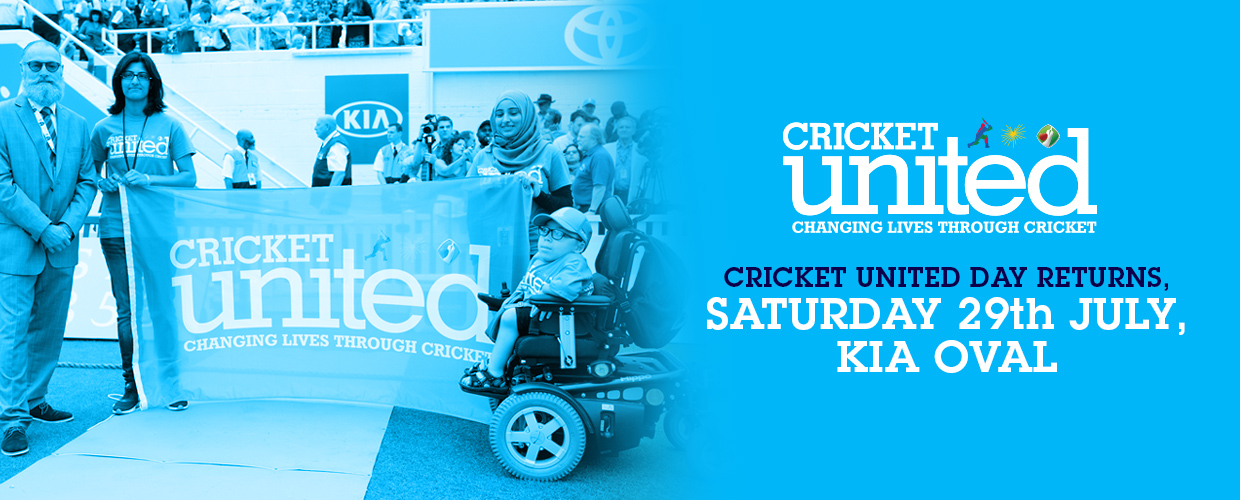CRICKET UNITED DAY 2017 CONFIRMED