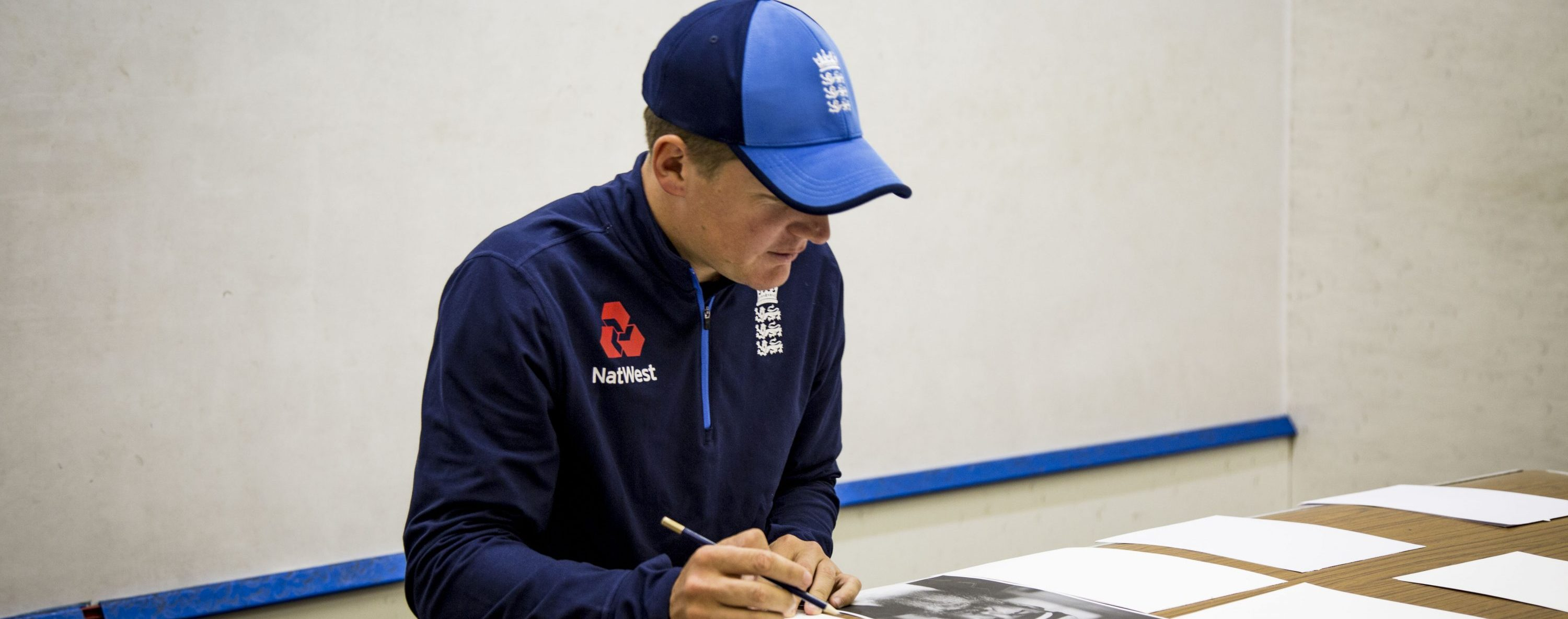England Players Doodle For Cricket United